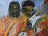 Nr 20. Jesus & Jimi Hendrix, Heta Ikoner