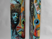 Nr 12 Högtalare / Speaker med Jimi Hendrix