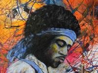 Nr 02. Affisch/Poster med Jimi Hendrix