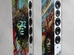 Nr 11 Högtalare / Speaker med Jimi Hendrix