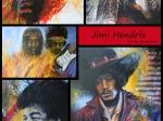 Nr 03. Affisch/Poster med Jimi Hendrix