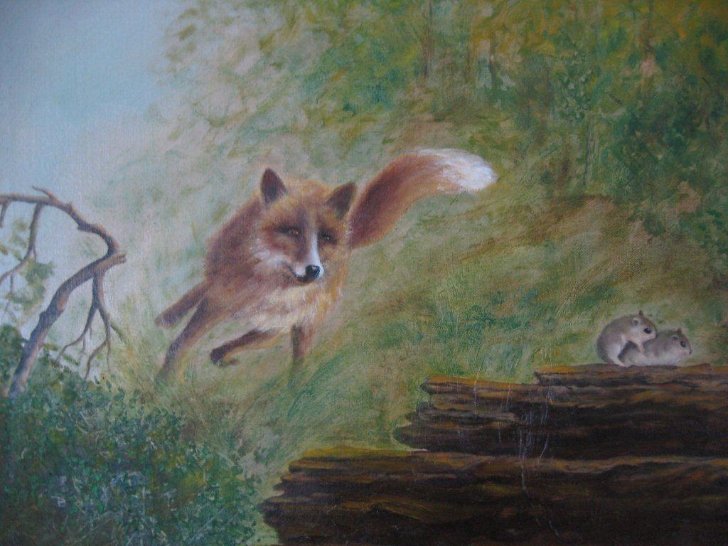 Nr 06. Räv på jakt