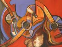 Nr 43. Gitarr interiör